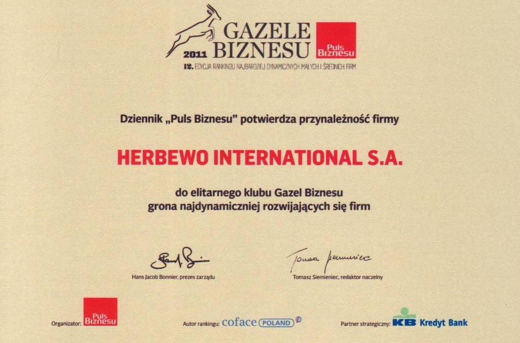 Business Gazelle 2011