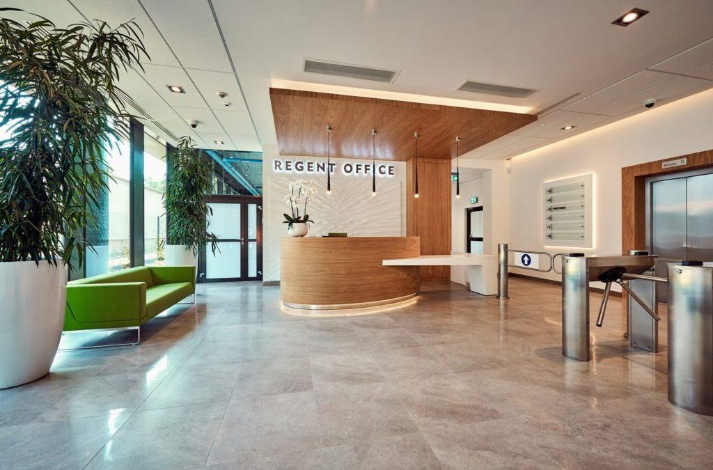 Reception in Regent Office