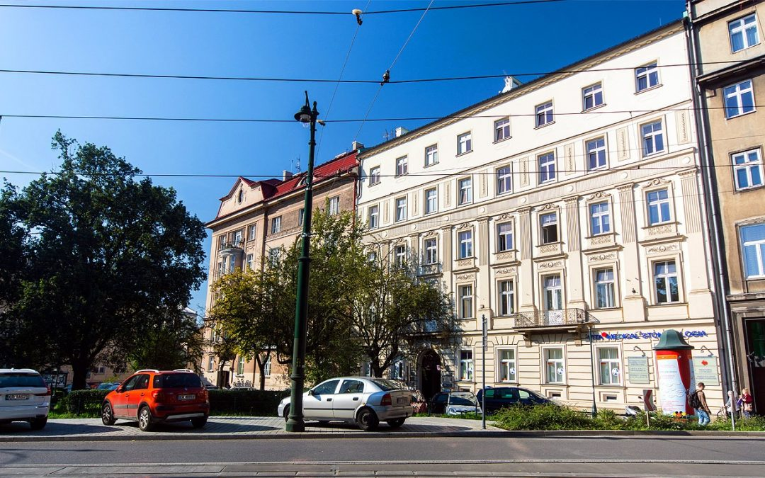 Renovation works in the building Basztowa 3