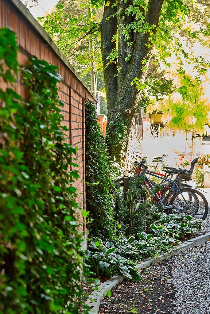Szatnie i łazienki dla rowerzystów w CB Herbewo