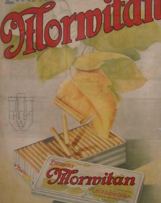 Przedwojenna reklama Herbewo