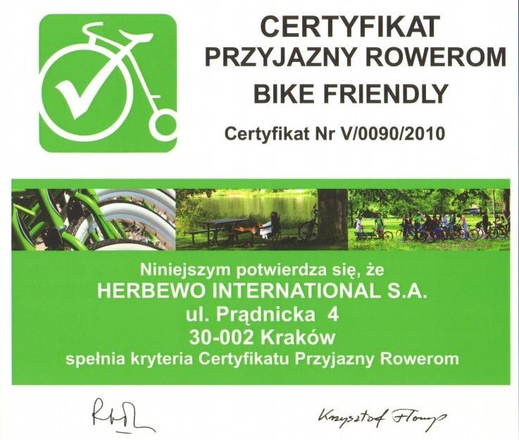 Przyjazny rowerom 2010